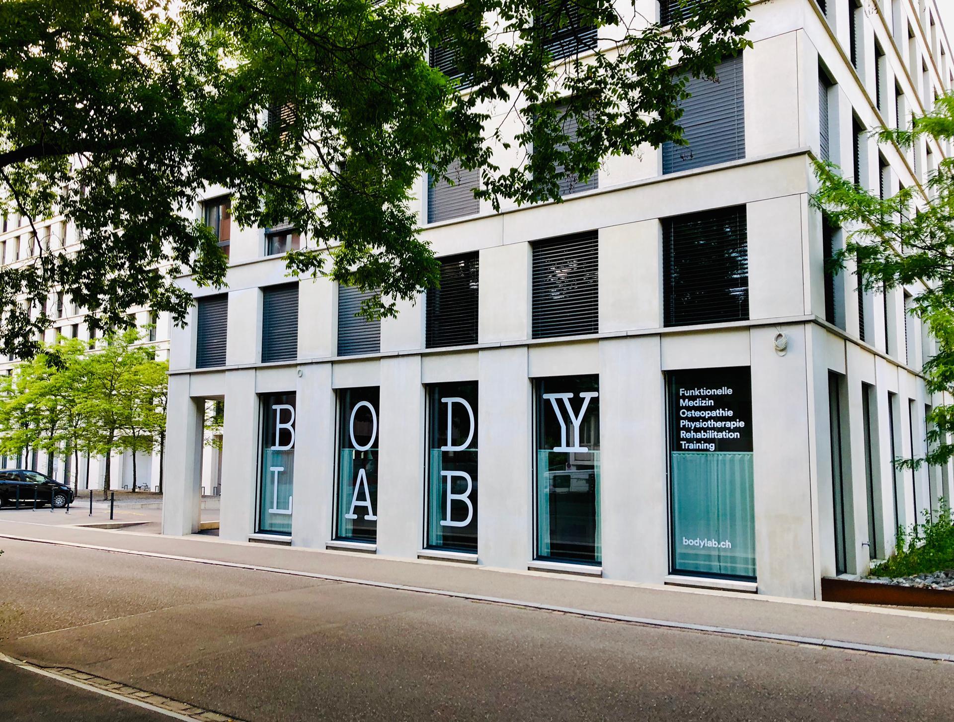 BodyLab Osteopathie Physiotherapie Rehabilitation Training Zürich