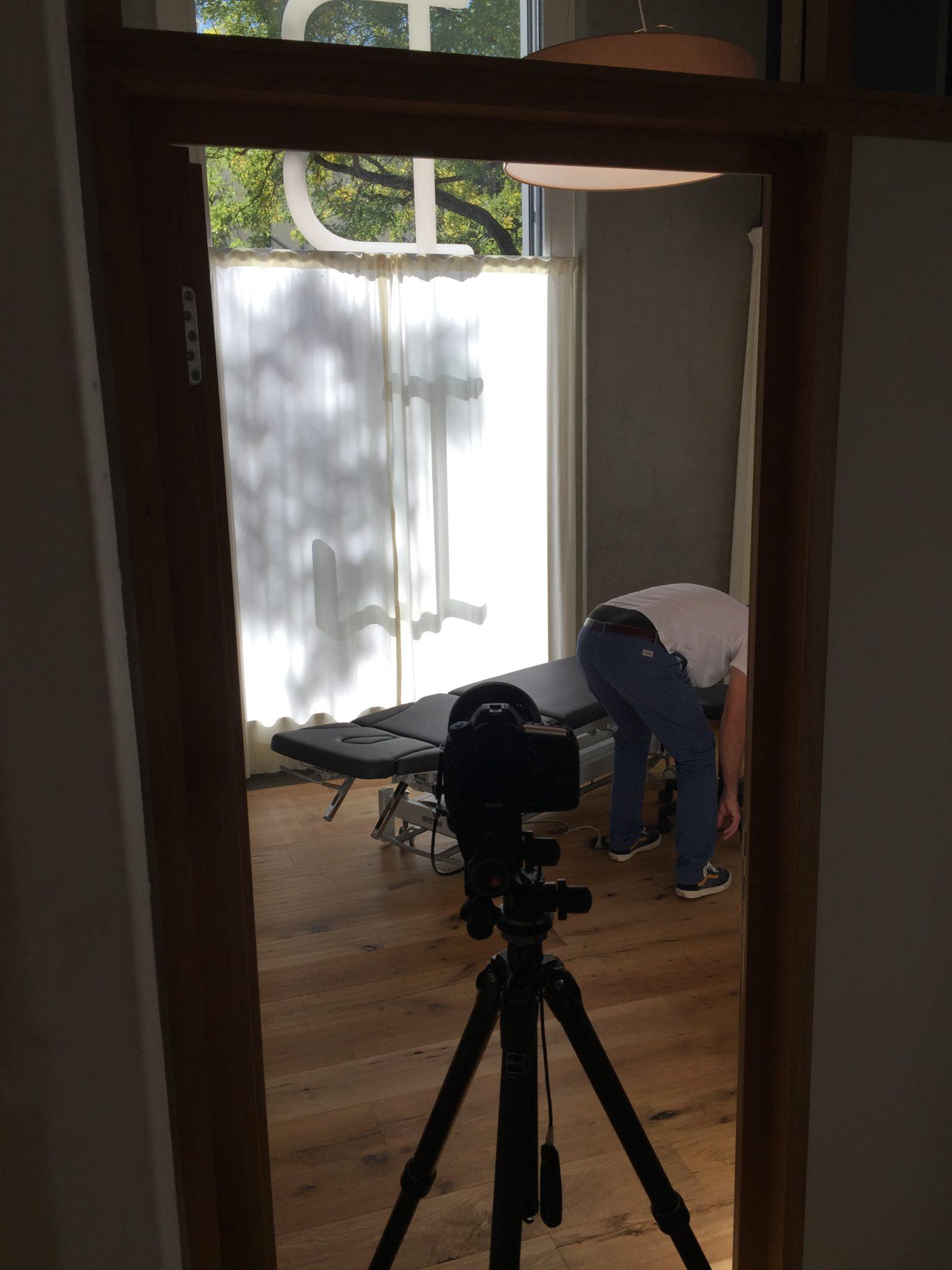Fotoshooting BodyLab | Osteopathie und Physiotherapie | Rehabilitation und Training | Zürich