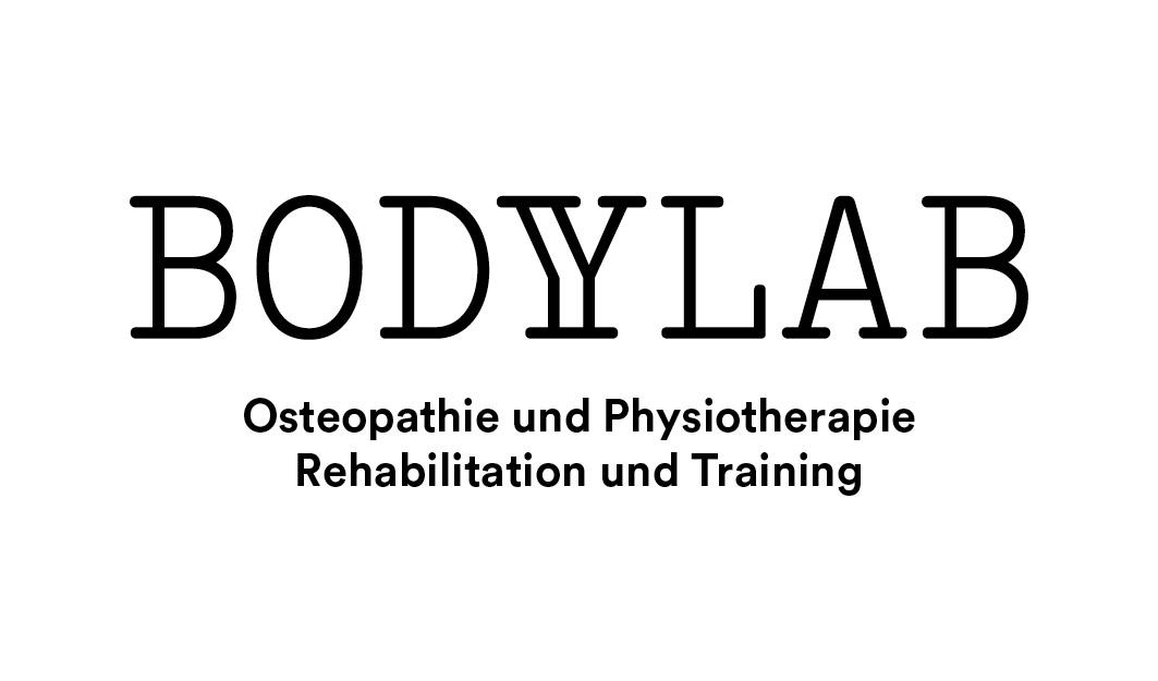 Logo (black mit) BodyLab | Osteopathie und Physiotherapie | Rehabilitation und Training | Zürich