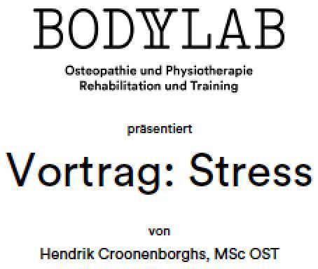 Vortrag: Stress