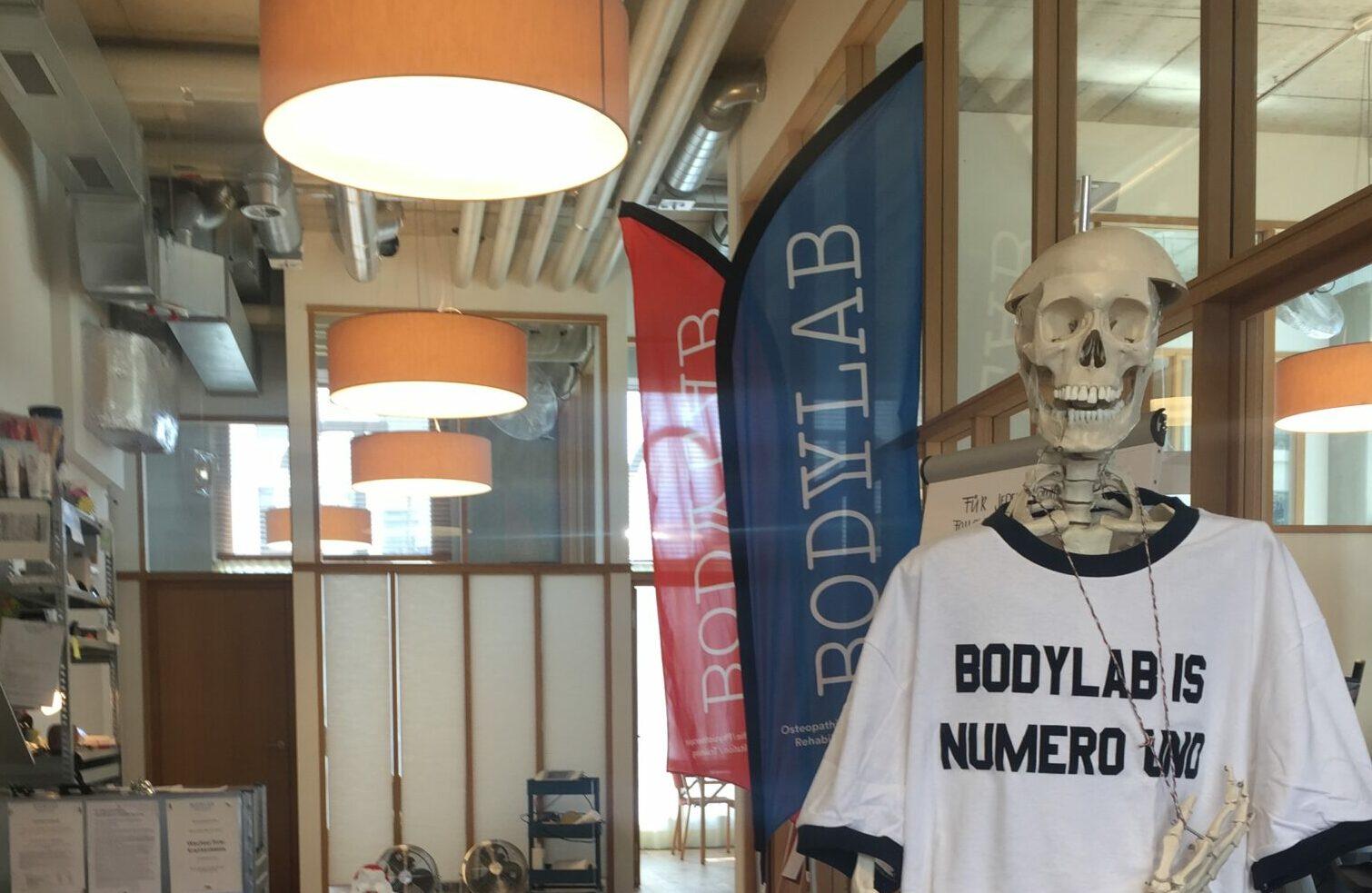 Stellenangebote Stelleninserat BodyLab Osteopathie Physiotherapie