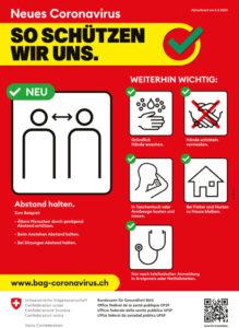So schützen wir uns_ BAG Plakat COVID-19
